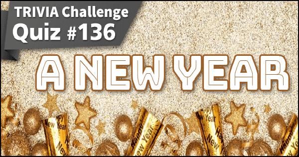 Quiz #136. A New Year